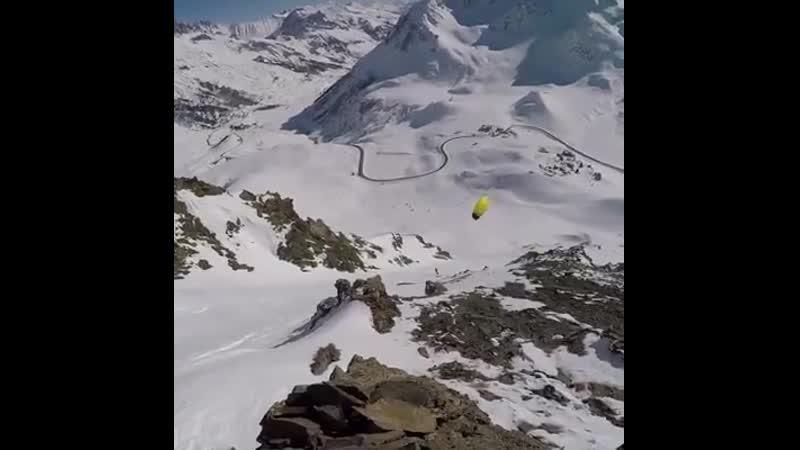 Johann Civel snowkiting compilation