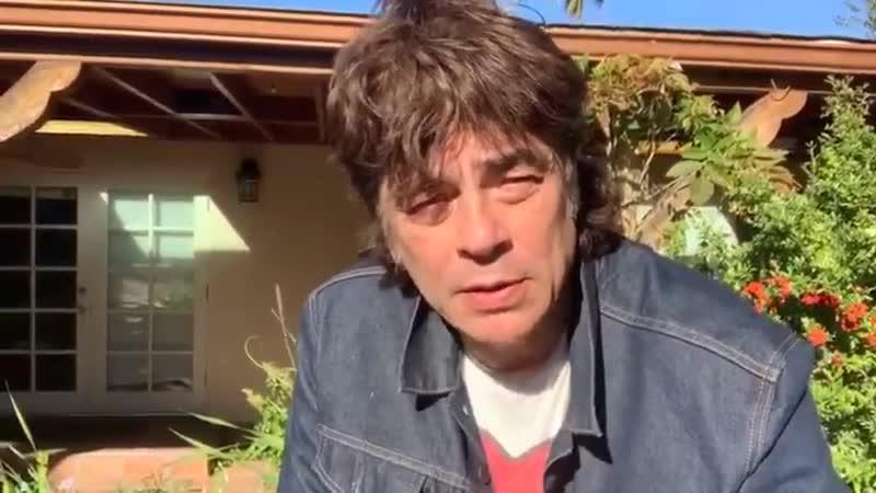 Бенисио рекомендует посмотреть Рокки на карантине 2020