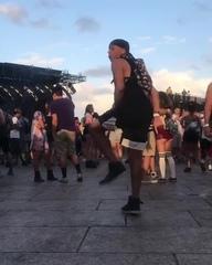 Euphoria <3   guy in the background dancing better :D