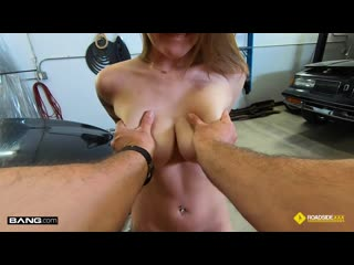 Aria Kai - Aria Kai Gets Her Car Fixed And Her Pussy Stuffed With Dick [Big Boobs, Gonzo, Facial Cumshot, Reality Porn]