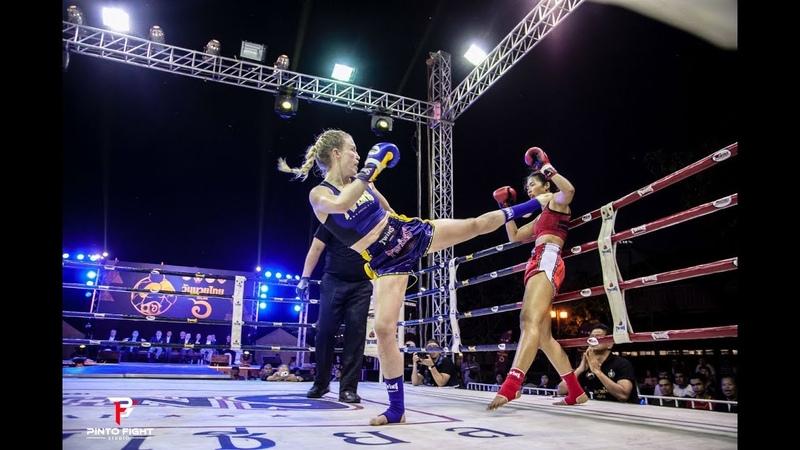 ZAZA Sor Aree - fight at Muaythai Day 2018 HL