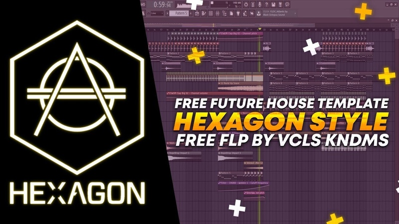 Hexagon Style Future House Template by Vcls Kndms [FREE FLP]