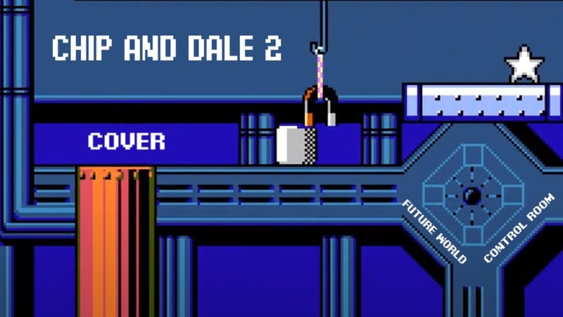 Chip and Dale 2 NES Future World Control Room cover audio