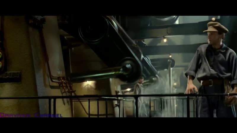 Столкновение Титаника с Айсбергом отрывок из фильма Титани 720 X 1280 mp4