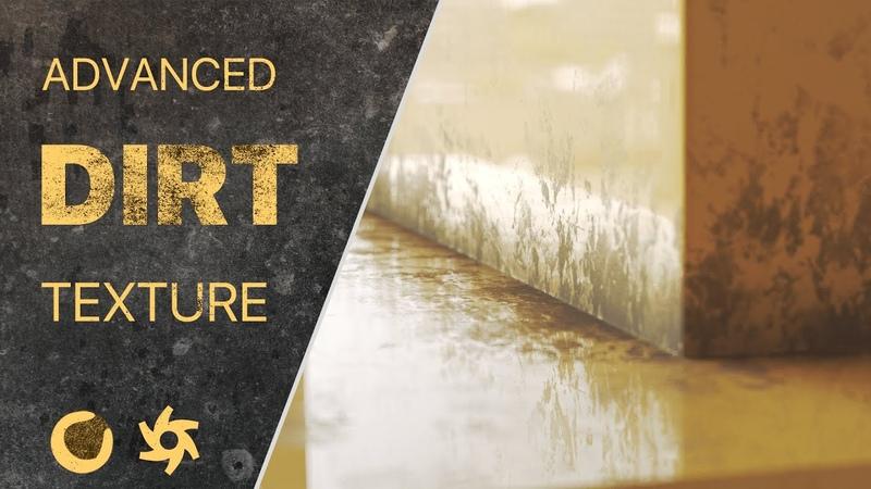 Cinema 4d Octane Tutorial Advanced Dirt Grunge Texturing