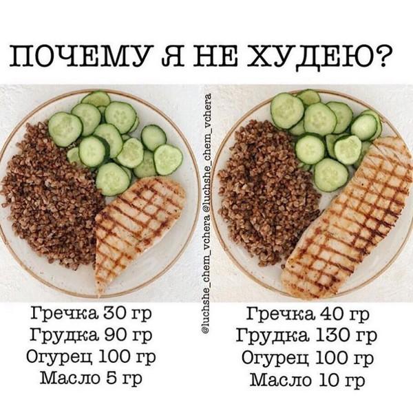 Порция Гречки При Похудении. Гречневая диета для похудения на 3, 7 и 14 дней: несколько вариантов меню и рецепты