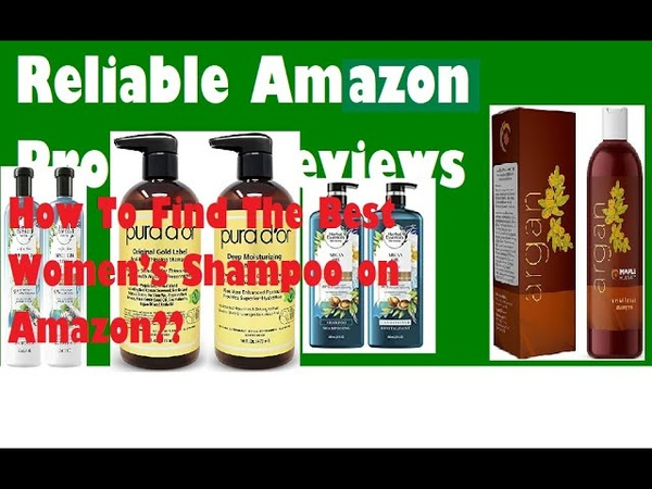How To Find The Best Women's Shampoo On Amazon
