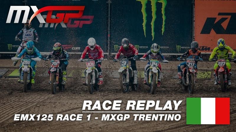 MXGP of Trentino 2019 Replay EMX 125 Race 1 Motocross