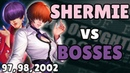 Shermie vs Bosses