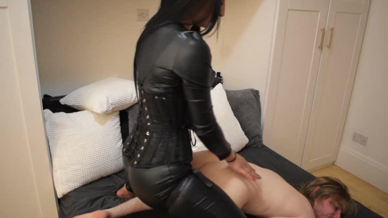 Mistress Fucks Guy Strapon