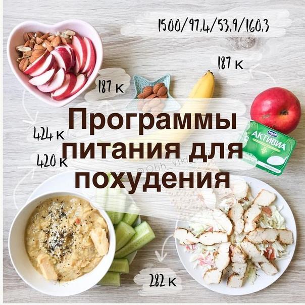 Программа Питания И Похудения.