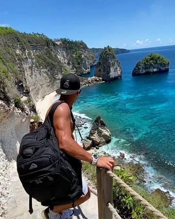 Барзиков Иван 🦁 on Instagram Одно из самых красивых мест Мира ❤️✅ это остров на Бали Nusa Penida обязательно посетите этот остров 🥰 барзиков