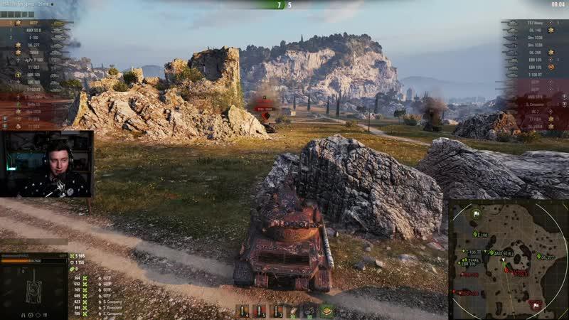 [EviL GrannY   World of Tanks] 60TP - Танк отличный, но плохой. 12 000 урона!