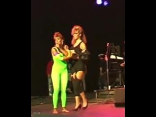 Mariah Carey & Brenda K Star 1988