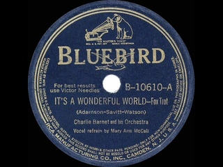 1940 HITS ARCHIVE: It's A Wonderful World - Charlie Barnet (Mary Ann McCall, vocal)