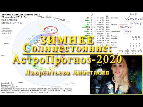 Зимнее Солнцестояние АстроПрогноз 2020 Журнал Экономист