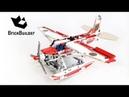 Lego Technic 42040 Fire Plane Lego Speed build