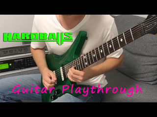 "Guitar playthrough на трек ""беги"""