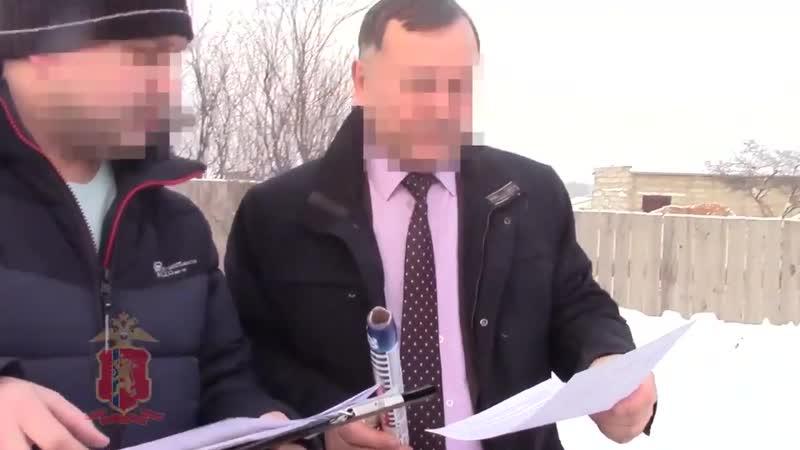 Задержание главы Козульского района Фёдора Гардта