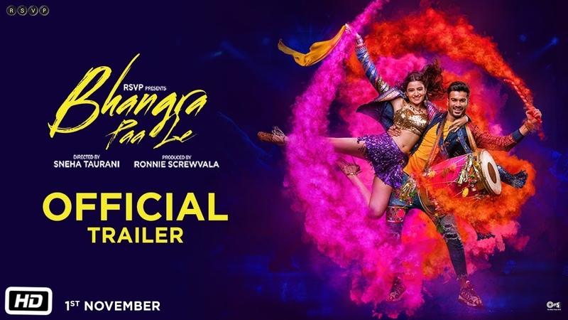 Bhangra Paa Le Official Trailer Sunny Kaushal Rukshar Dhillon Sneha Taurani 1st Nov