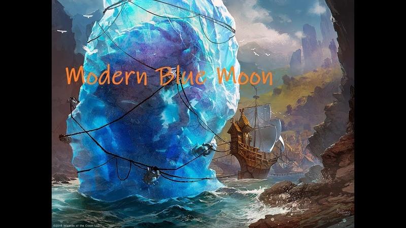 Modern Blue Moon