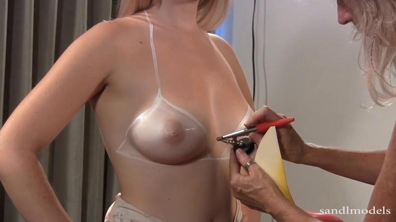 Sabrina sample bodypainting