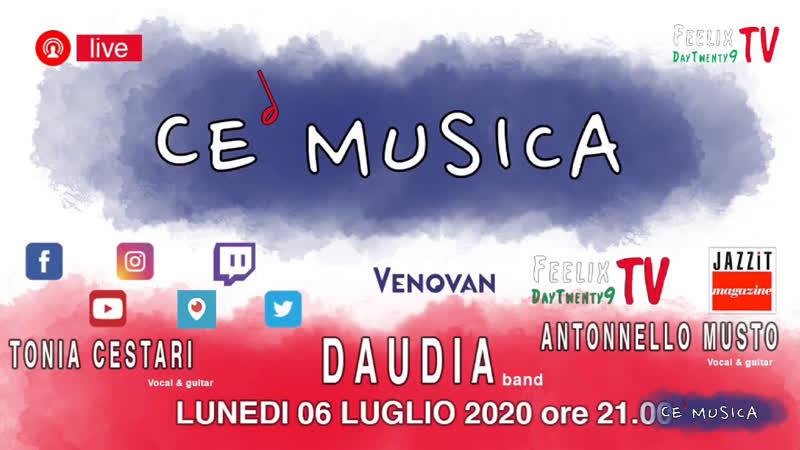 CE Musica quinta puntata 06.07.2020 Venovan   Cestari   Musto   Daudia