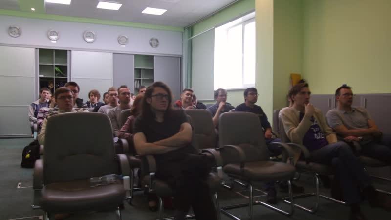 Встреча SarDotNet №6 отчетный видеролик №4
