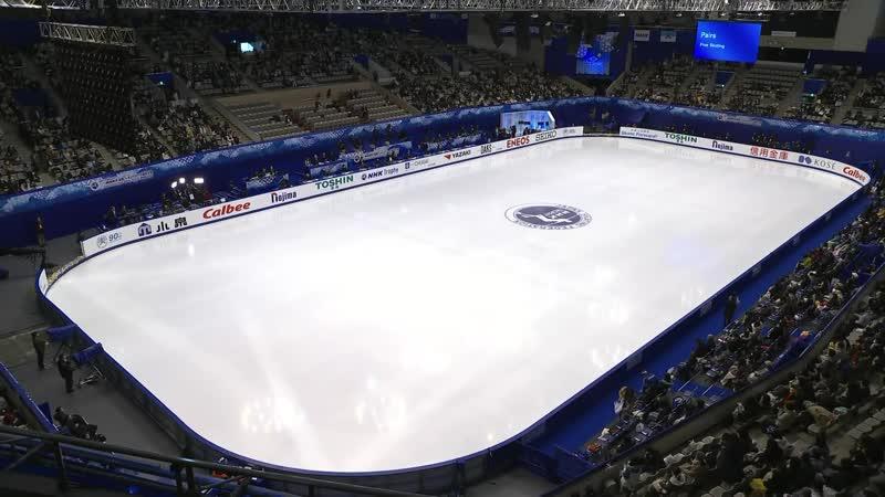 Pairs Free Skating NHK Trophy 2019 @GPFigure Full HD