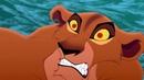 Зира падает с обрыва. Король Лев 2: Гордость Симбы (1998) год.