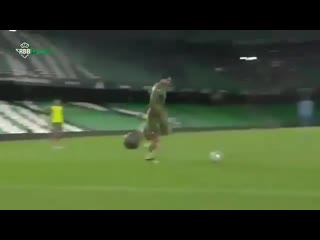 Веселое упражнение от Реал Бетис