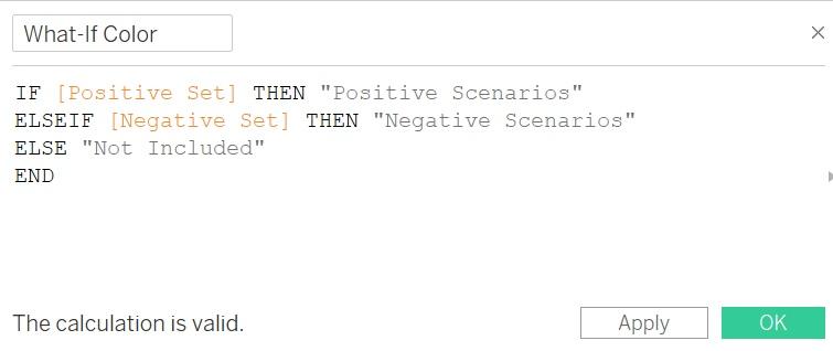 Как создать представление и провести анализ «что - если» с помощью элемента Set Control в Tableau 2020.2, изображение №14