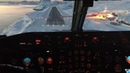 Landing in Maniitsoq Greenland