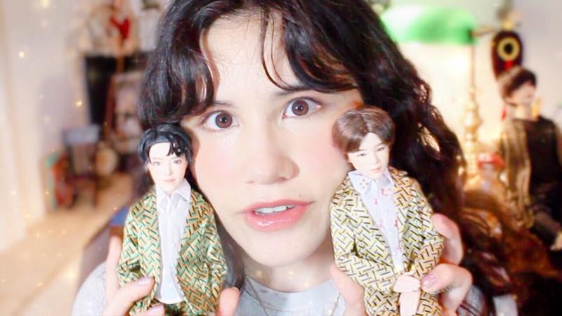【Dolls】So I repainted Hobi (again)... oTL Mattel BTS Doll Repaint Weverse renddsxbtsrepaint