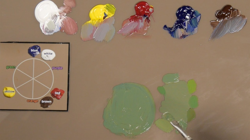 How to Match Any Color with Oil Paint