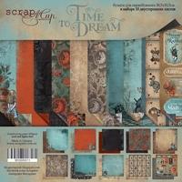 Набор двусторонней бумаги 30х30см от Scrapmir Time to Dream(eng.) 10л 410 р В наличии 1 шт