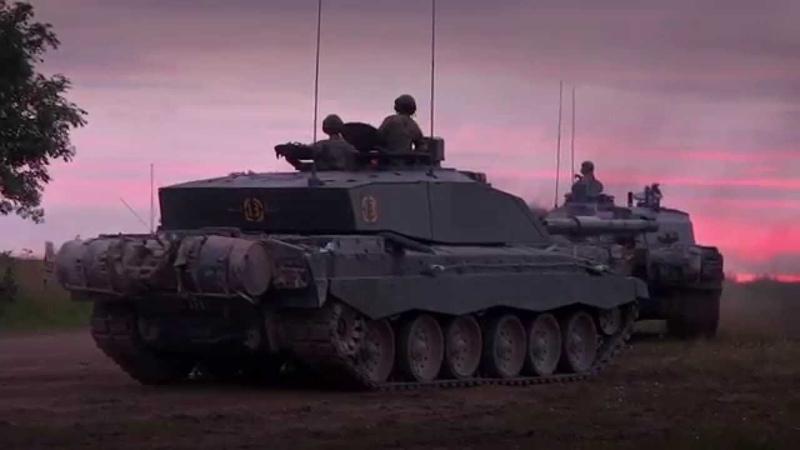 Challenger 2 Main Battle Tank RAW ENGINE SOUNDS