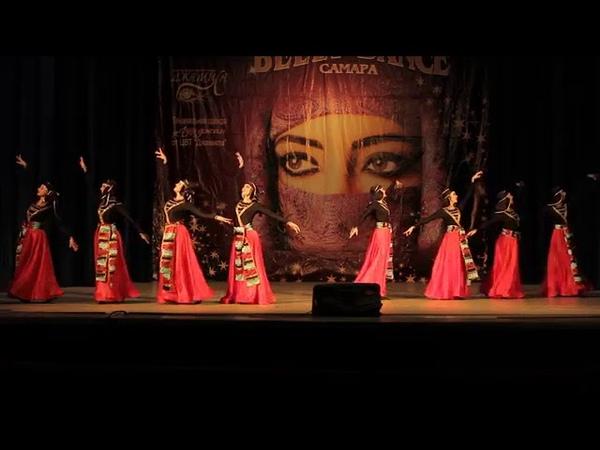 Аджарский танец Ачарули ФАЙЗА Самара Ajara dance Аcaruli