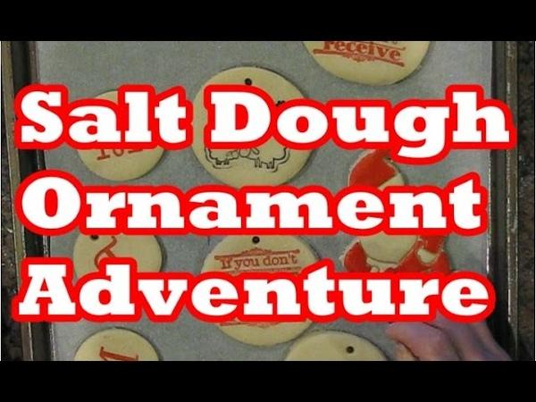 My Salt Dough Ornament Adventure