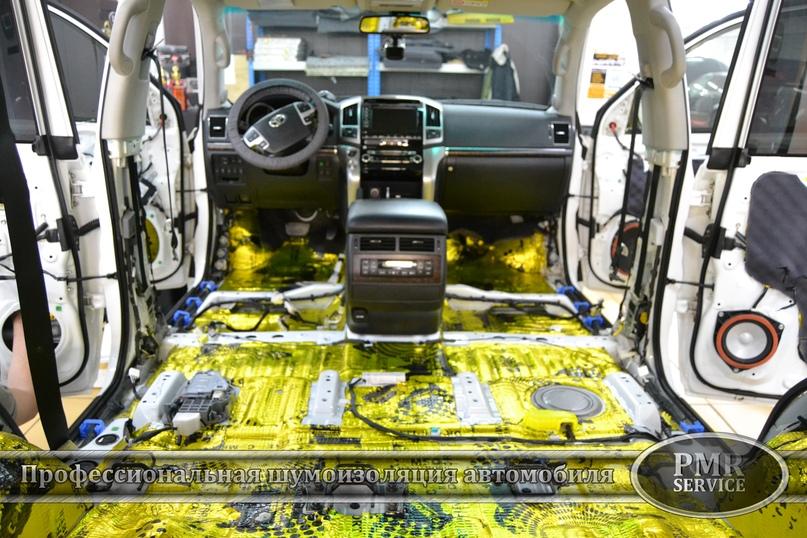 Комплексная шумоизоляция Toyota Land Cruiser 200, изображение №18