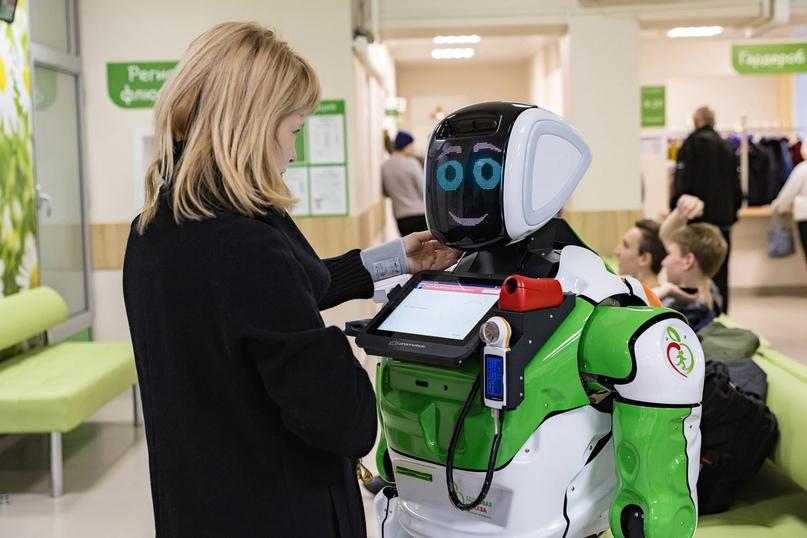 Робот-диагност для проекта «Здоровая Москва»