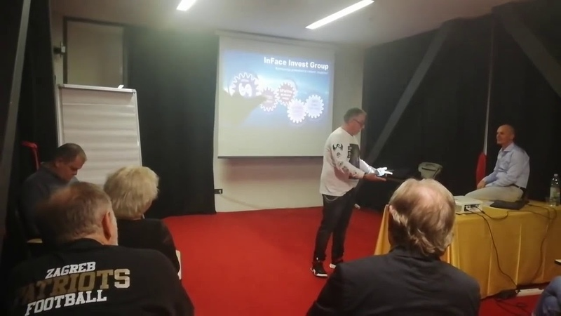 Zoran Lazarevic na prezentaciji InFace Invest Group u Zagrebu 26 10 2019