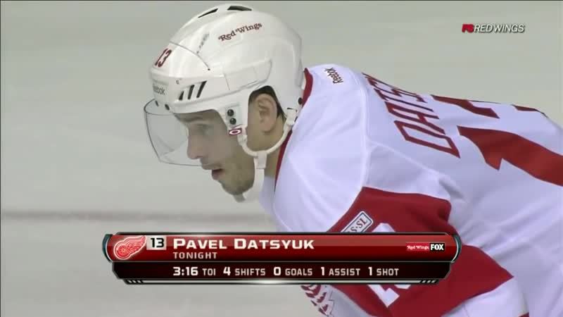 Pavel Datsyuk decks Shea Weber HD