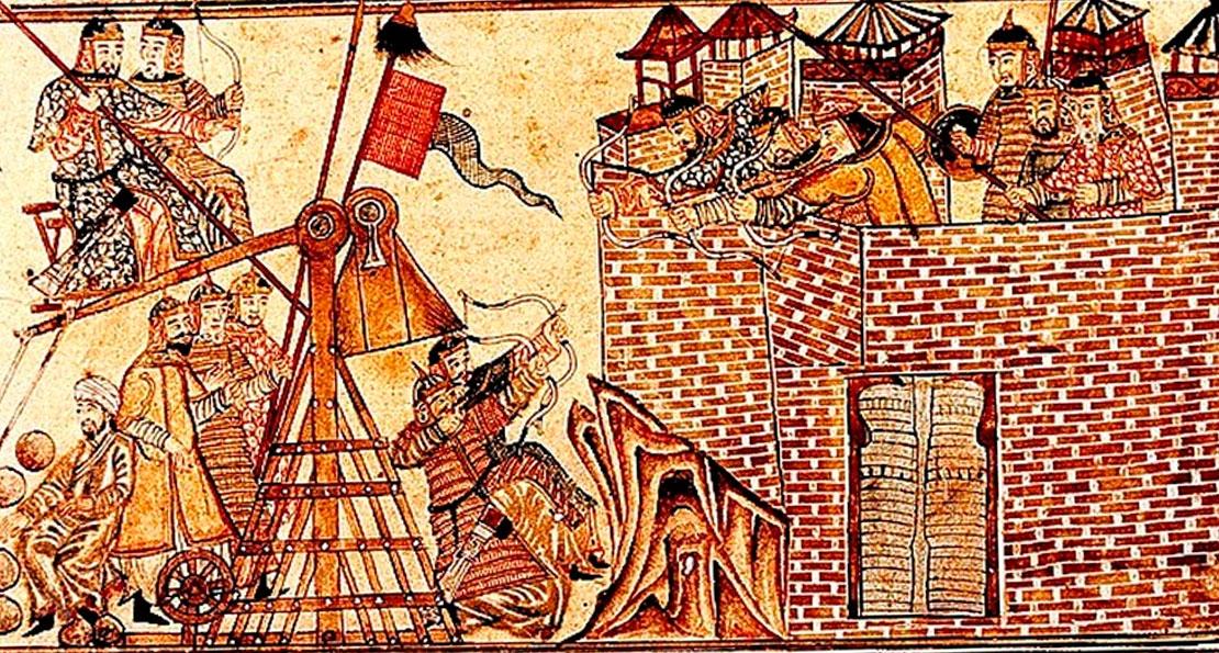 Монголы в осаде
