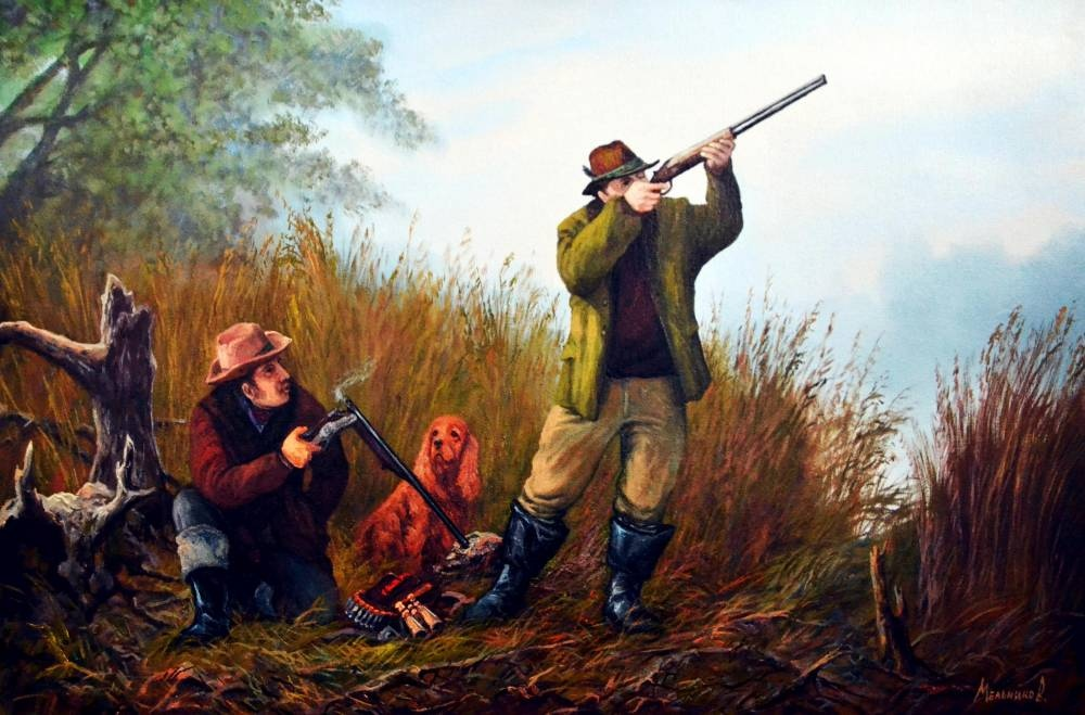 картинки на тему охота и ружья имеет красивый
