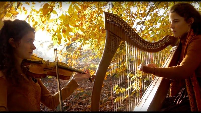 Celtic music - Brocéliande and La Complainte de la Blanche Biche - Harp and violin