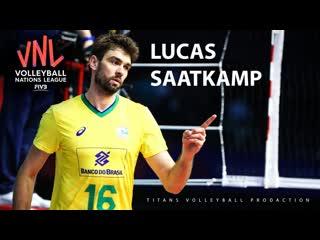 Lucas Saatkamp Best Aсtions VNL 2019