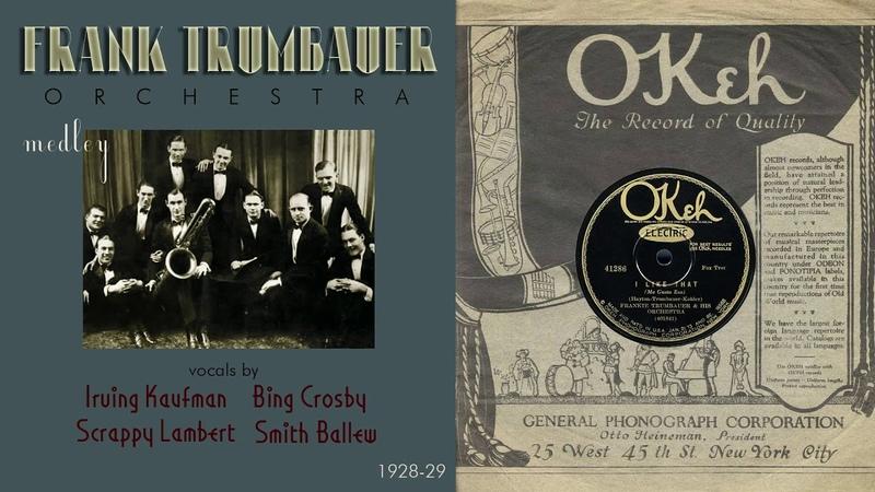 1929 I Like That Mississippi Mud Love Affairs Lila Frank Trumbauer Orch Bix Crosby HD 78rpm