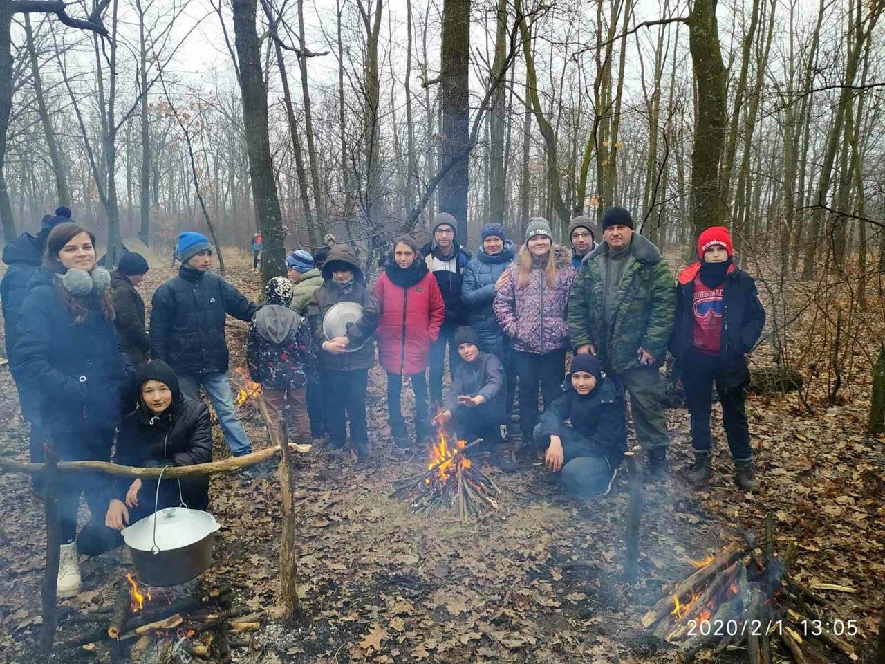 В Донецке прошел городской отборочный этап учебно-практических сборов «Выживание в зимних условиях»