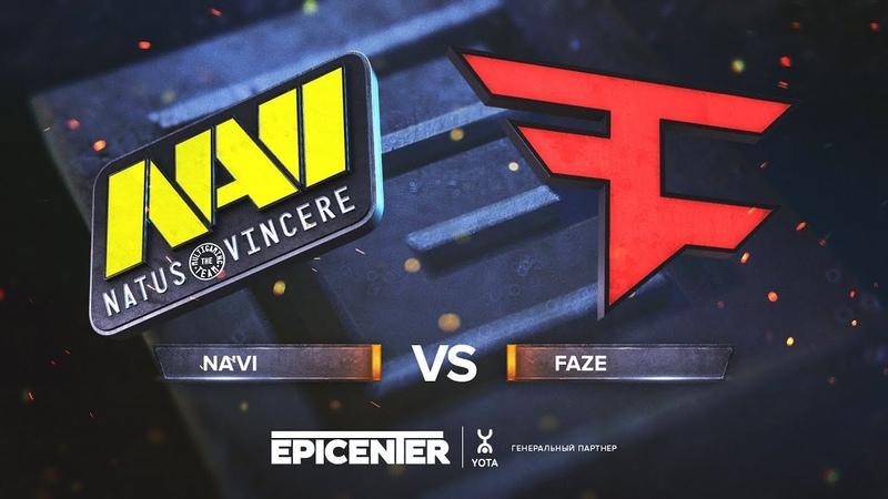 Na'Vi vs. FaZe - EPICENTER 2018 Grand-final - map1 - de_mirage [Enkanis, CrystalMay]